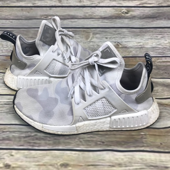 Preloved Adidas NMD XR1 White Camo Sneaker Boost